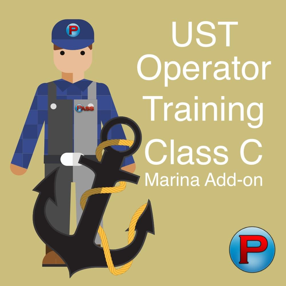 Add-on - UST Class C Operator Training - Marinas