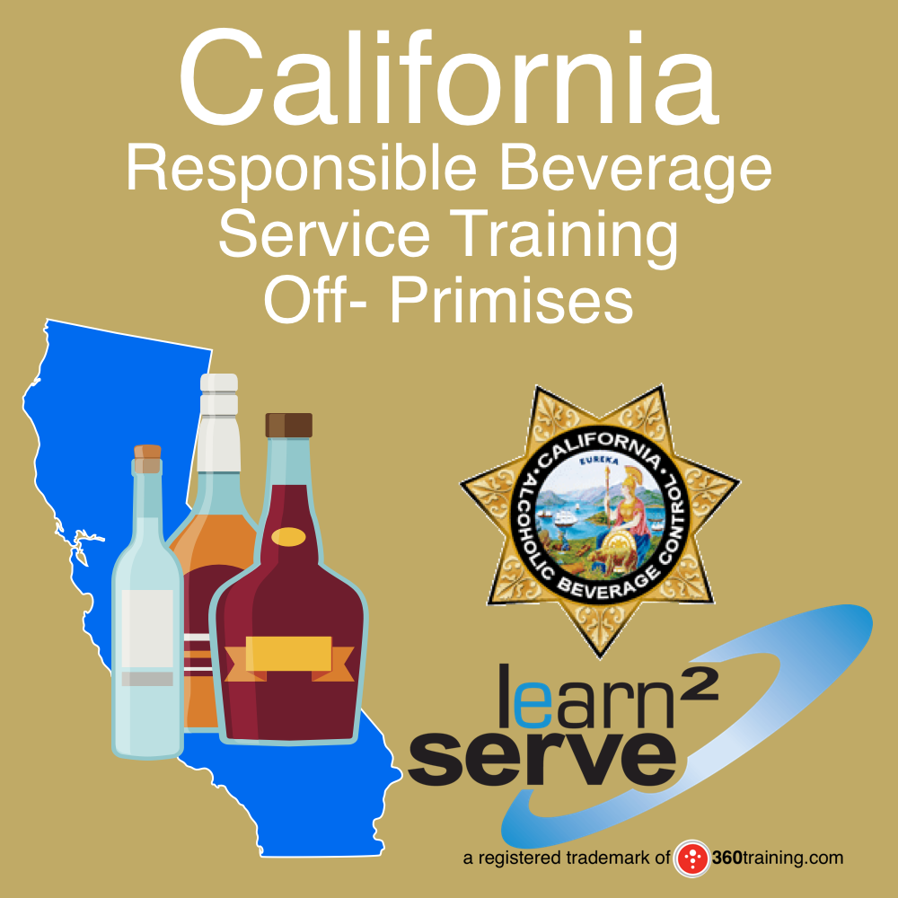 California Responsible Beverage Service Training Off-Premises