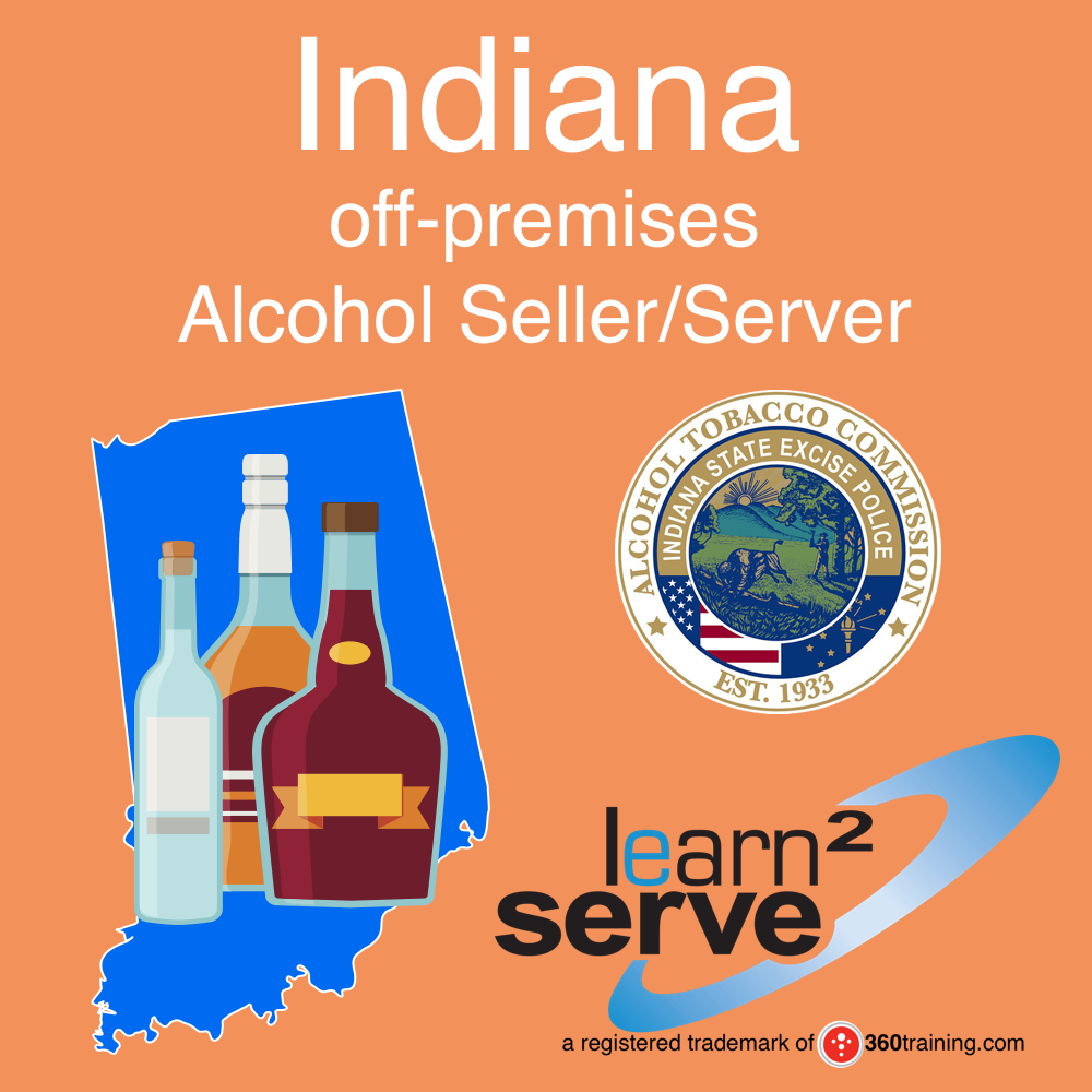 Learn2Serve Indiana off-premises Alcohol Seller