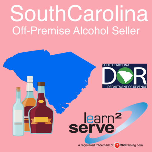 Learn2Serve South Carolina off-premises Alcohol Seller