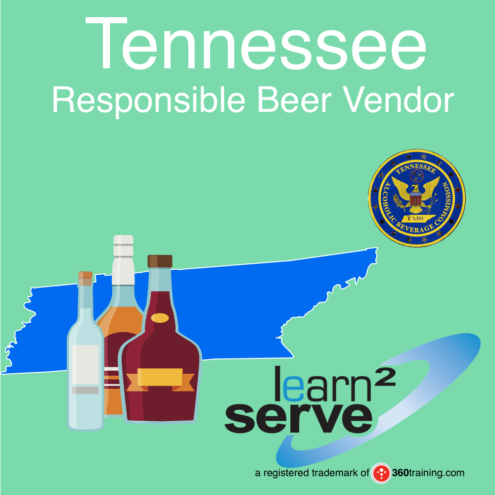 Learn2Serve Tennessee Responsible Beer Vendor