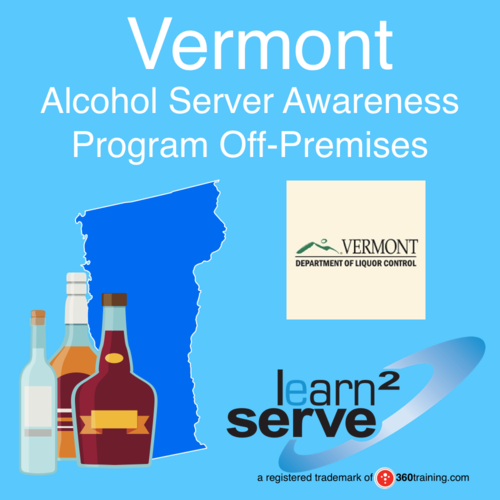 Learn2Serve Vermont Alcohol Server Awareness Program Off-Premise